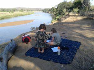 home school in the bush